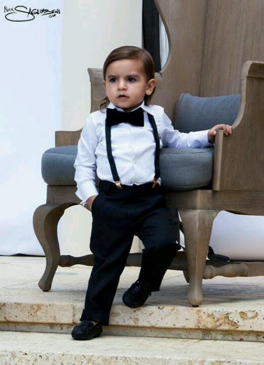 Mały gentleman (źródło: pinterest)