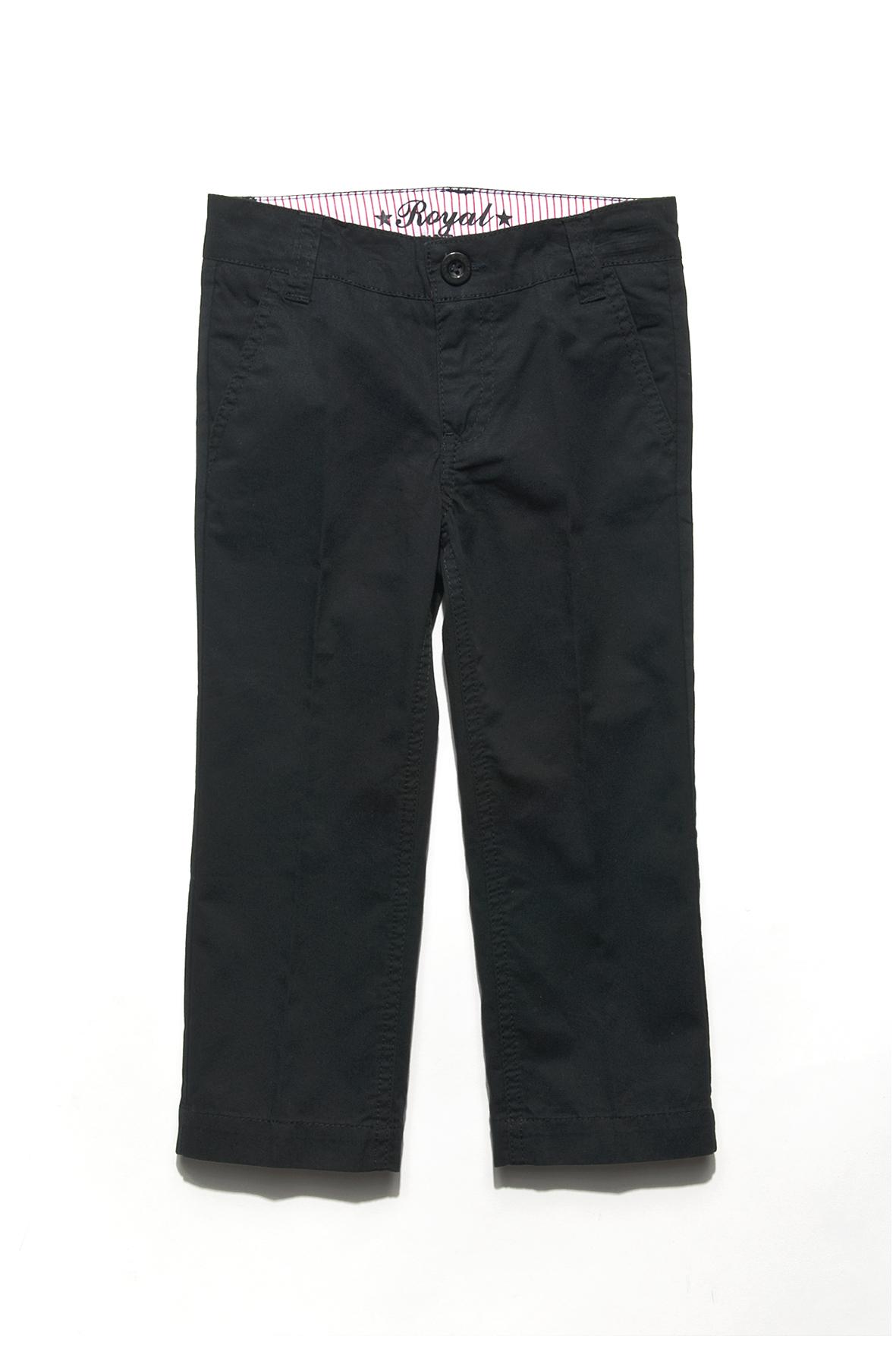 Spodnie chłopięce w kolorze eleganckiej czerni (źródło: www.51015kids.eu)
