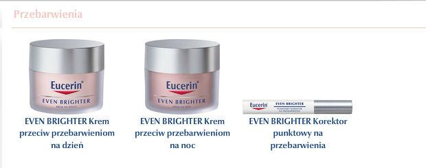 EUCERIN - krem na przebarwienia i korektor punktowy na przebarwienia (źródło: www.eucerin.com)