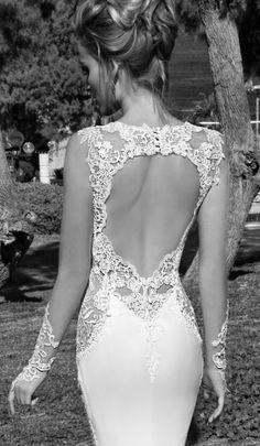 Suknia ślubna: Galia Lahav (źródło: pinterest)