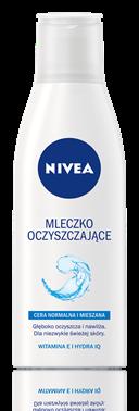 Nivea mleczko oczyszczające z witaminą E (źródło: nivea.pl)