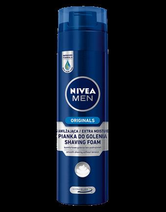 Nivea - nawilżająca pianka do golenia (źródło: www.niveamen.pl)