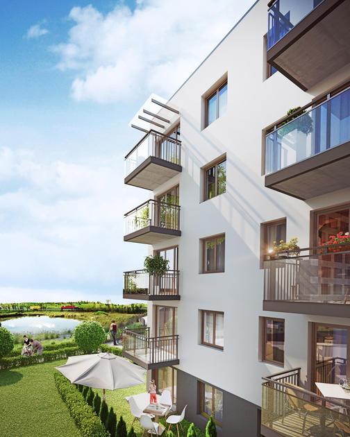 Chabrowe Wzgórze, nowe mieszkania Gdańsk z pięknym widokiem na zieleń