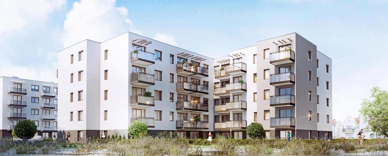 nowe mieszkania gdańsk, niska zabudowa