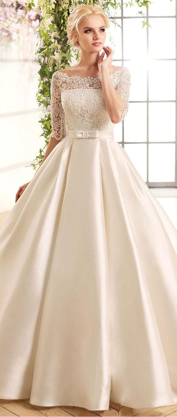 nowoczesna suknia princessa
