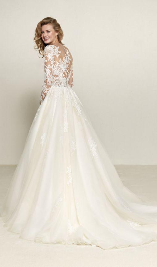 pronovias suknie ślubne 2018