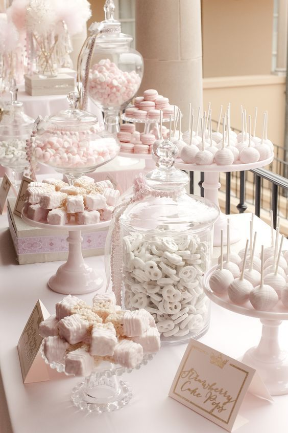 romantyczny candy bar