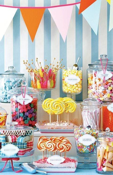 candy bar inspiracje