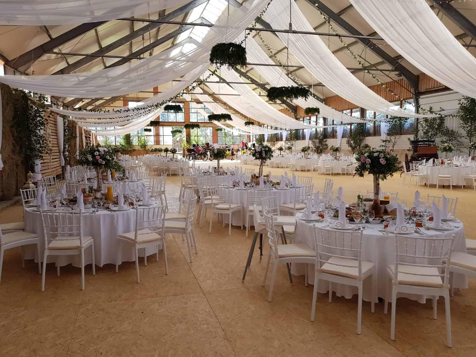 Organizacja wesela wystrój sali